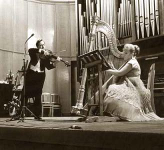 С Ольгой Эрдели, 7 февраля 1973 г.