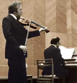 Исполнение сонаты  Д. Д. Шостаковича. Партия фортепиано - Михаил Мунтян