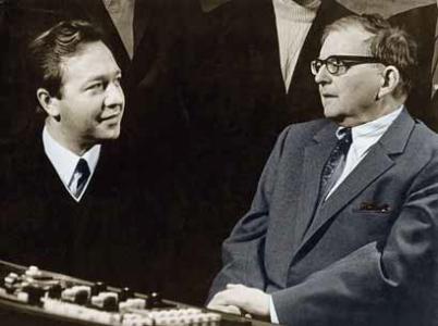 Д.Д. Шостакович и Ф. Дружинин