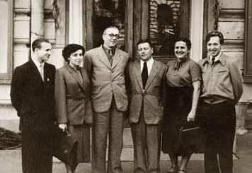 И. Малкин, А.Левина, В. Борисовский, Ю. Фролов, Ф. Дружинин, 1957 (?) год